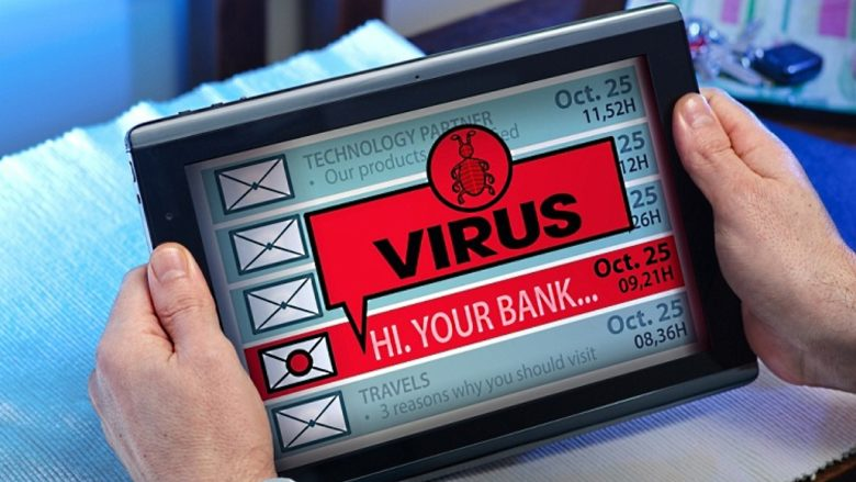 virus tablette