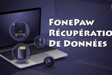 FonePaw récuperation de donnes