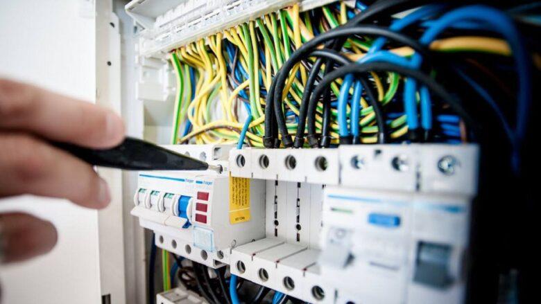 installation électrique d'une maison