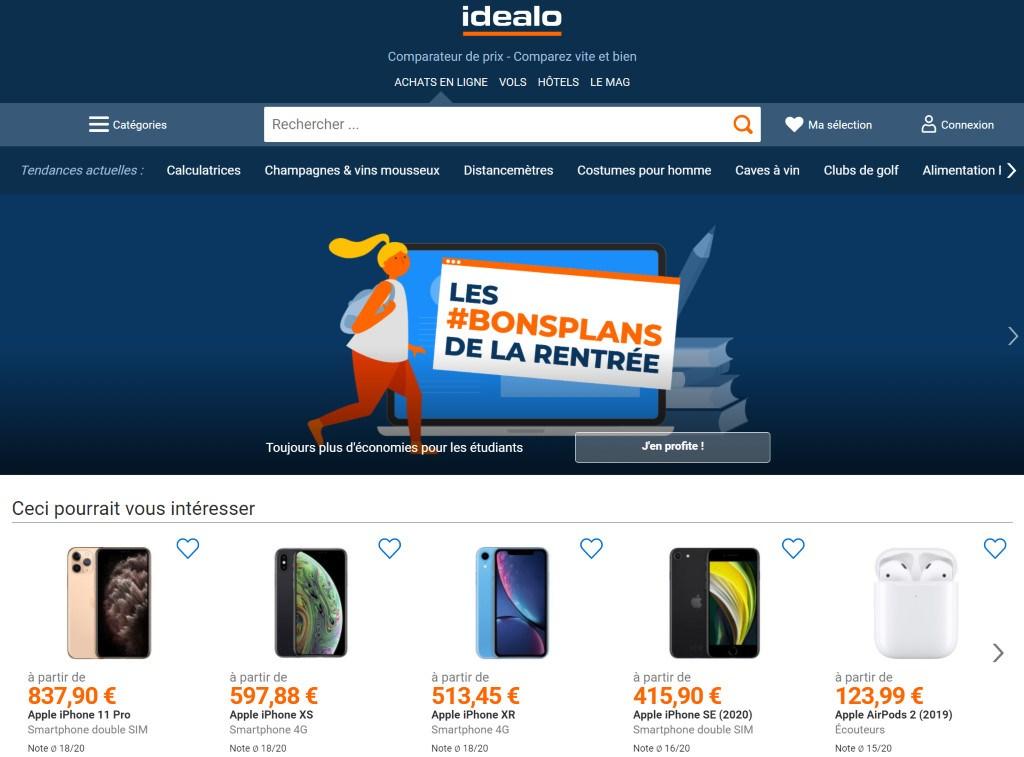site idealo.fr