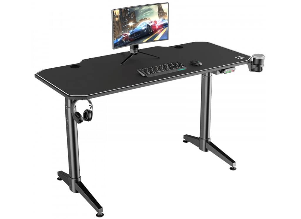 bureau gaming électrique assis debout