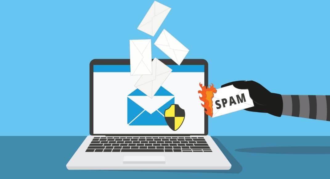 cybersécurité mail spam