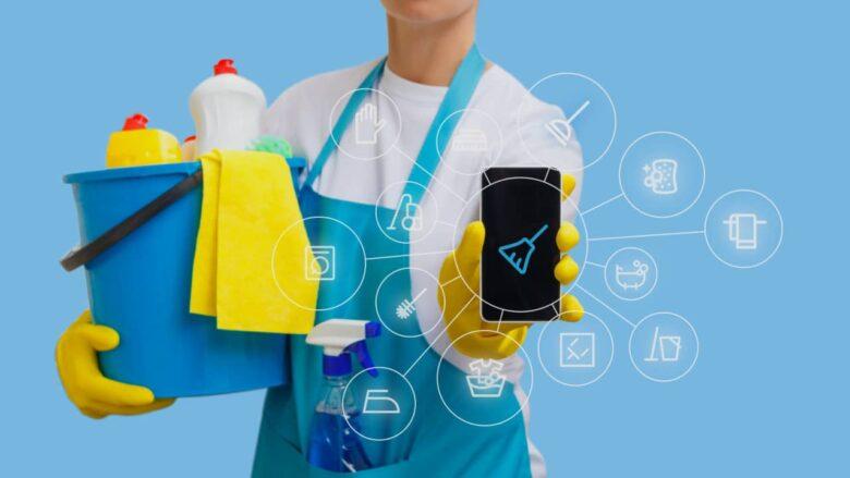 applications nettoyer ménage
