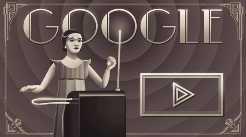 doodle google Clara Rockmore