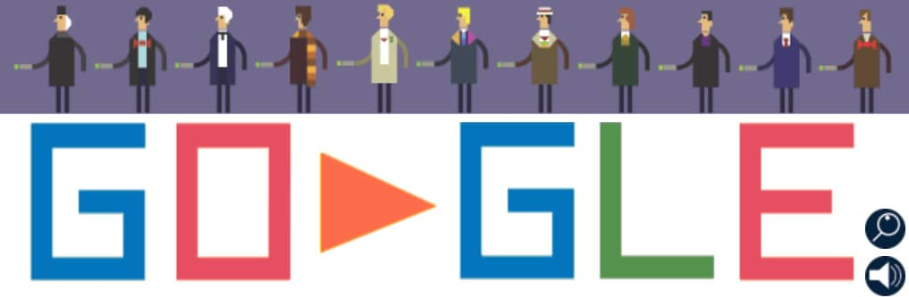 doodle google Doctor Who
