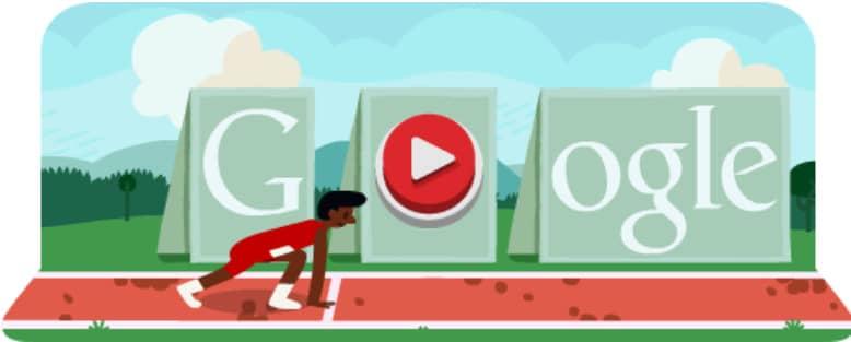 doodle google Saut de Haies