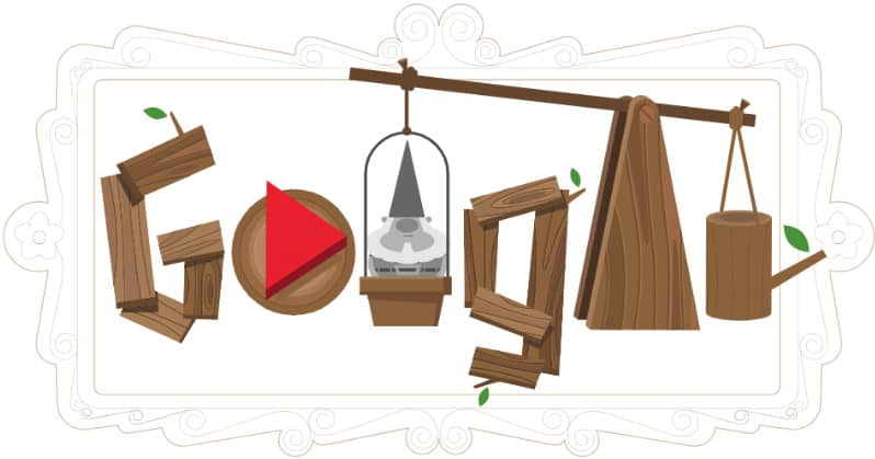 doodle google Nains de jardin