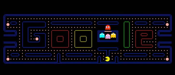 doodle google PAC-MAN