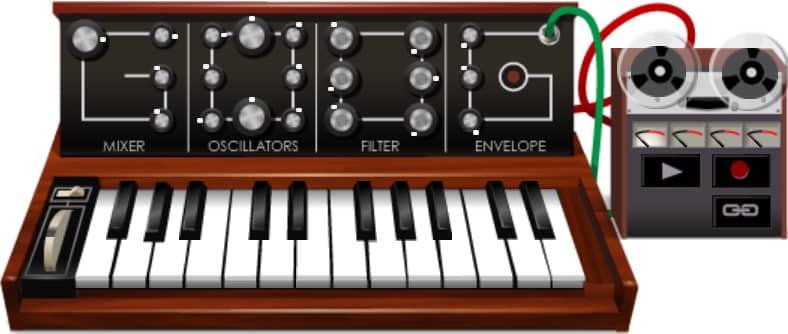 doodle google Robert Moog