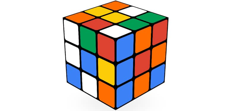 doodle google Rubik's Cube