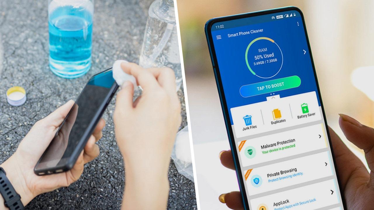 Comment nettoyer un smartphone ?