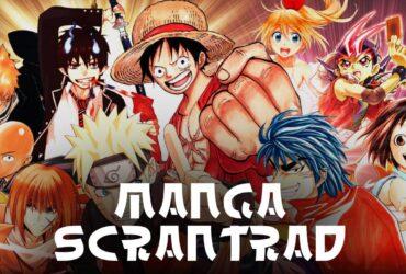 Manga Scantrad : scans illégaux de mangas