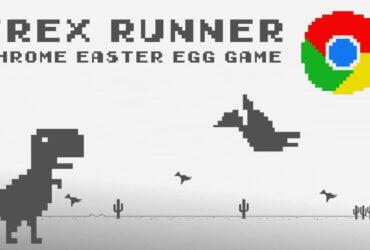 t-rex game : le jeu google chrome dino run
