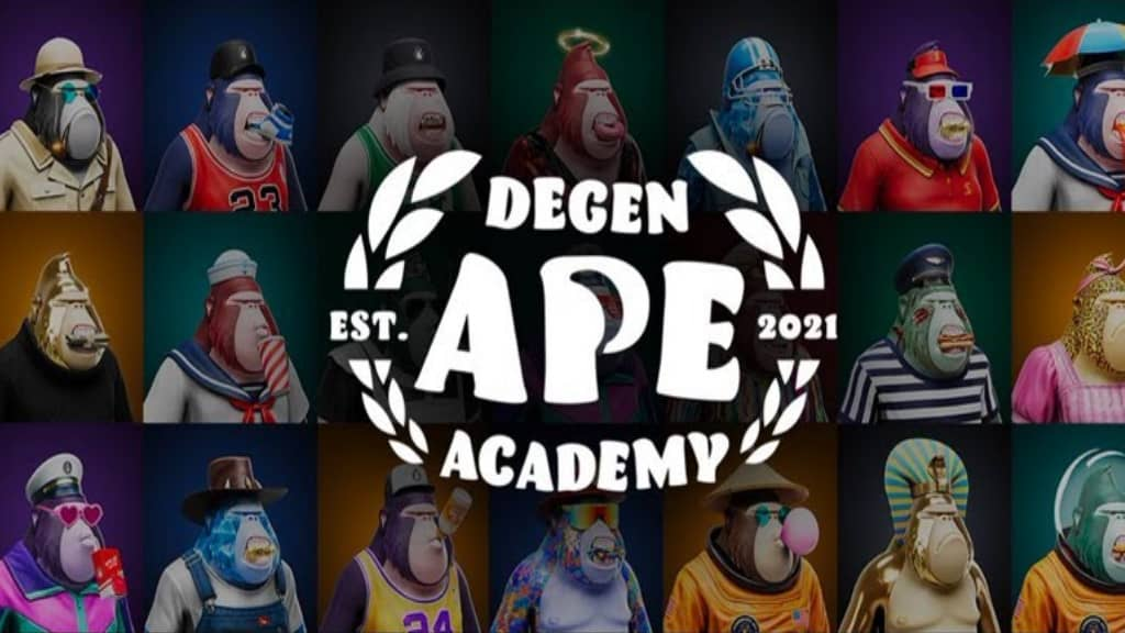 NFT Degenerate Ape Academy