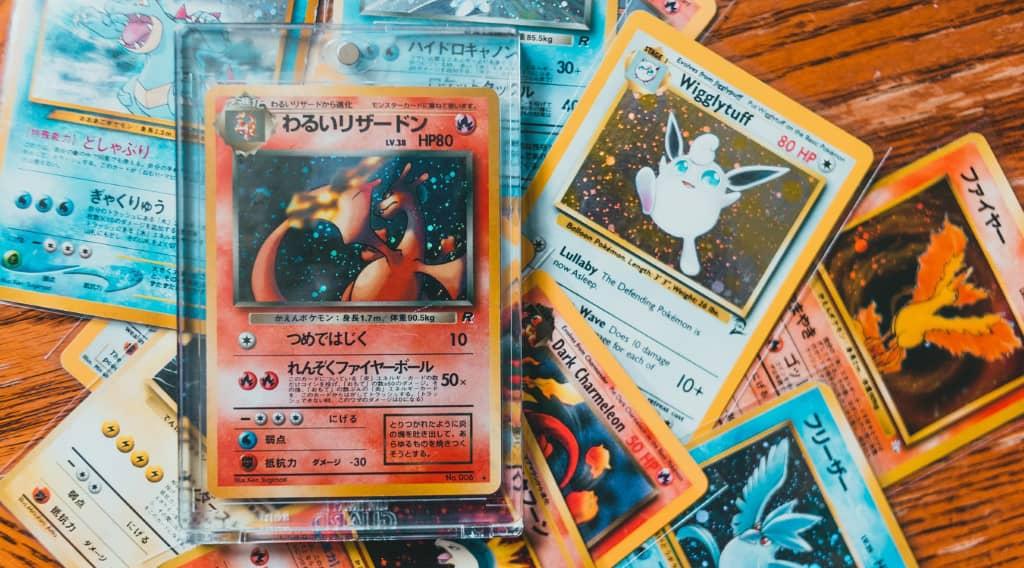 La nostalgie rétro de consommateurs touche aussi l'univers des cartes à jouer comme Pokemon