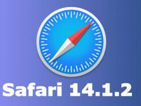 mise à jour safari 14.1.2 macos