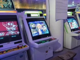 rétro gaming bornes d'arcade