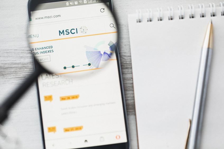 indice boursier MSCI